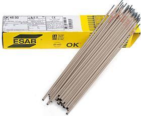 Obalená elektroda OK 48.00 2,5x350 balení 195ks 4,5kg ESAB bazická