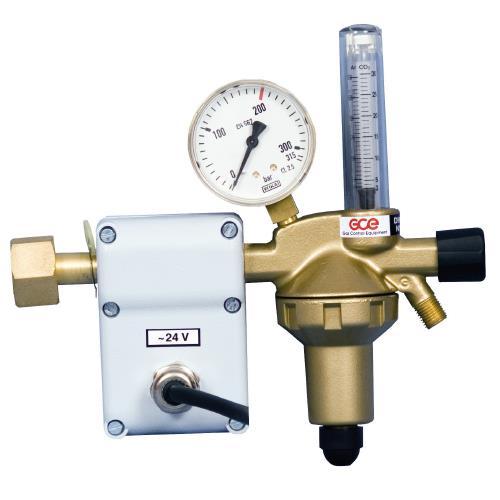 Redukční ventil CO2 s ohřevem 24V
