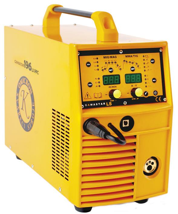 SET GAMASTAR  196LS PFC + kabely 3m/25 + hořák 15/3m + ventil